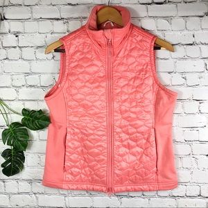 Ll bean Small vest color salmon